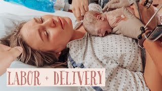 EMOTIONAL BIRTH VLOG 2020 | LABOR AND DELIVERY VLOG | AUTUMN AUMAN