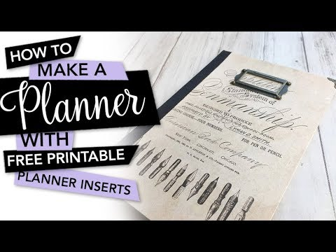 photo relating to Free Printable Planner Inserts named HOW Towards produce a planner Manual + Cost-free printable planner inserts