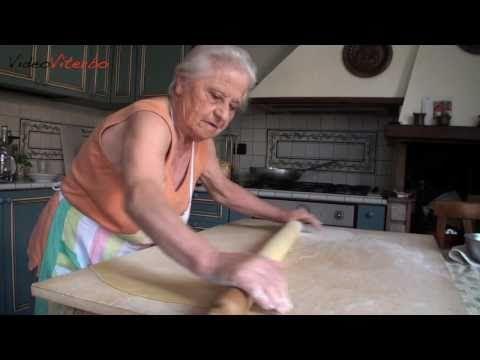 Tagliatelle di nonna Elena (www.videoviterbo.com)