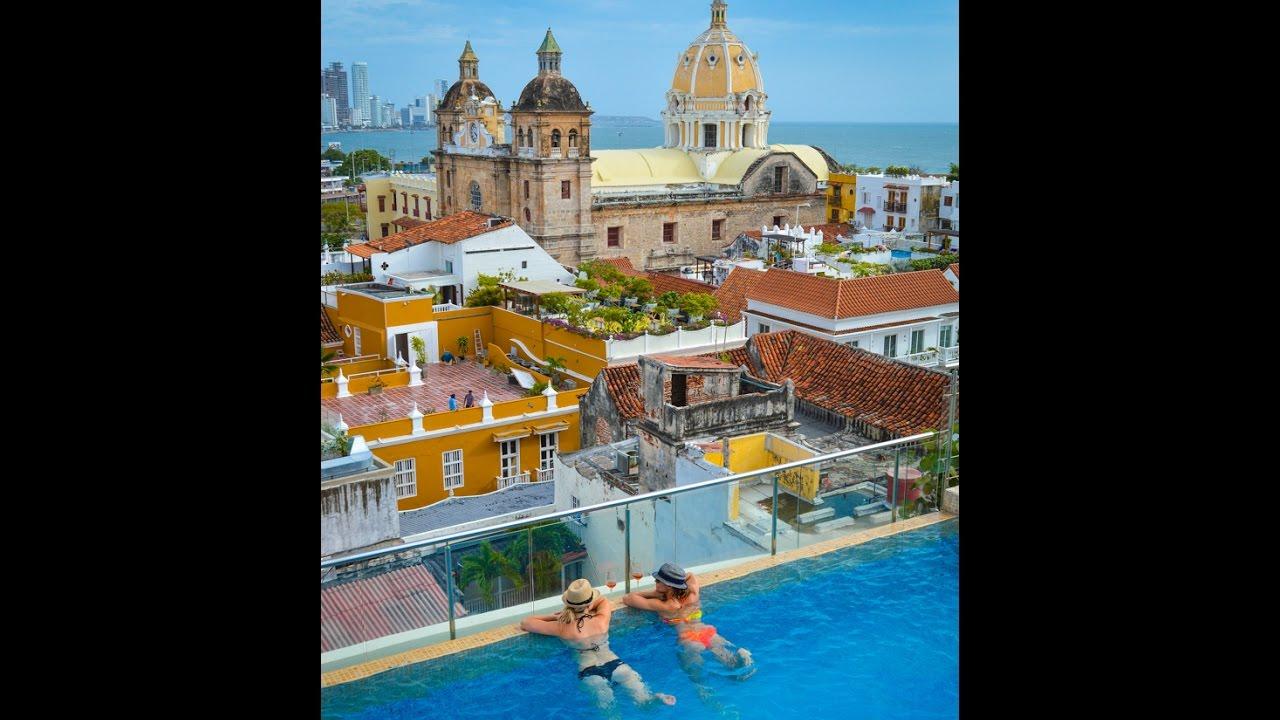 The Best Rooftop Pool In Cartagena