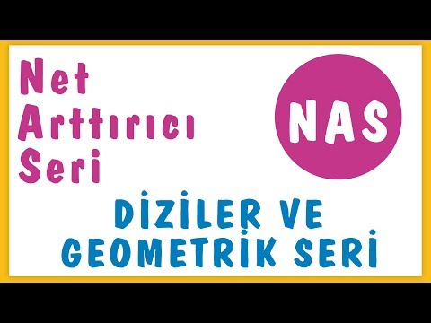 N.a.s. Diziler Ve Geometrik Seri I Şenol Hoca Matematik