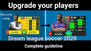How to upgrade players in Dream league soccer 2021/A complete guideline/Max your team rating/DLS2021 screenshot 5