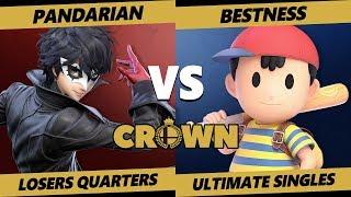 Crown 2019 SSBU - DEM | Pandarian (PT, Joker) Vs. A | BestNess (Ness) Smash Ultimate Tournament LQ