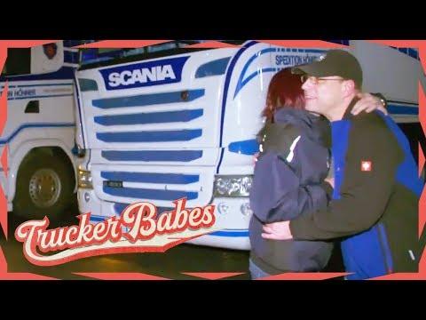Familientreff bei den Oschmanns - So stolz ist Katrins Bruder auf sie | Trucker Babes | kabel eins