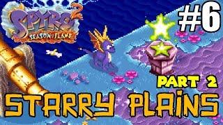 Spyro 2: Season of Flame #6 - Starry Plains - Part 2 - To 100%! [GBA, 2002]