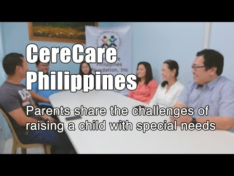 CereCare Philippines: Parents share the challenges of raising a child with special needs