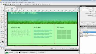 How to Export from Adobe Fireworks to Dreamweaver HTML