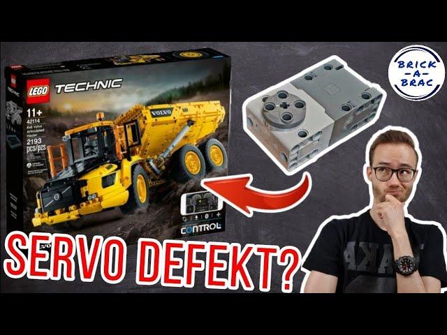 LENK-PROBLEME beim LEGO® Technic 42114 Volvo Dumper - Ist der SERVO-Motor defekt?