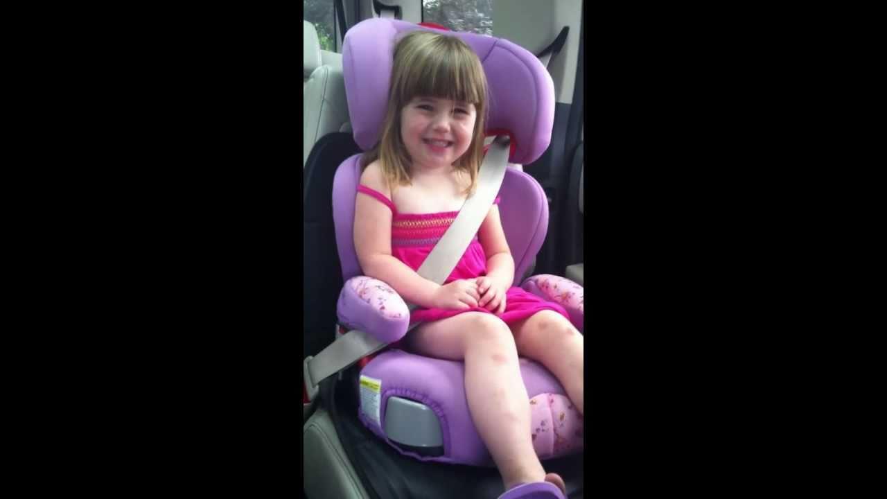 Little Girl Dacing & Singing to Lady Gaga Telephone in Her Car Seat ...