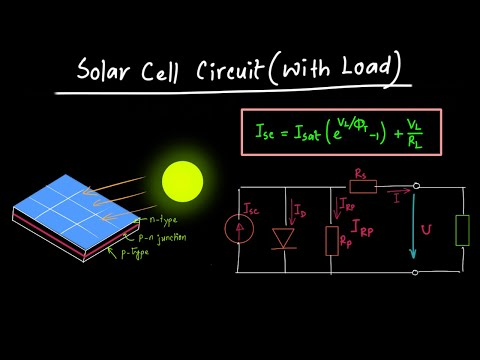 Solar Cell Circuit (with Load attached)