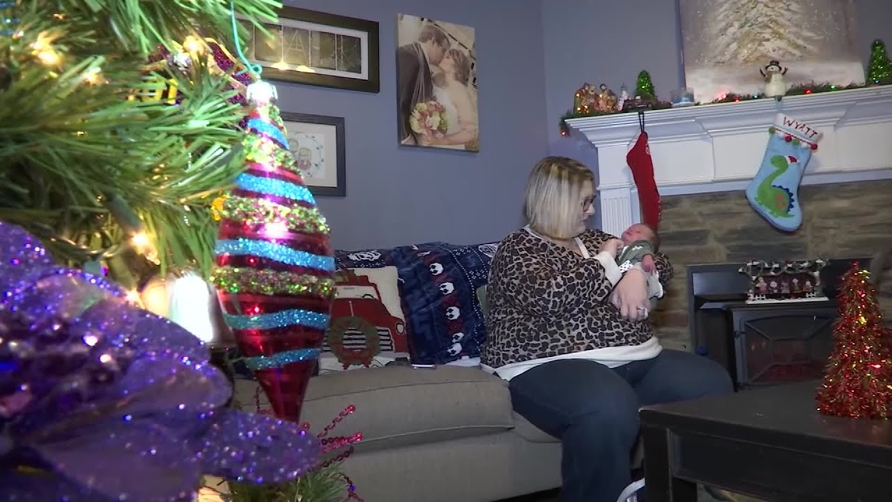 Mom learns she is pregnant 9 days before giving birth