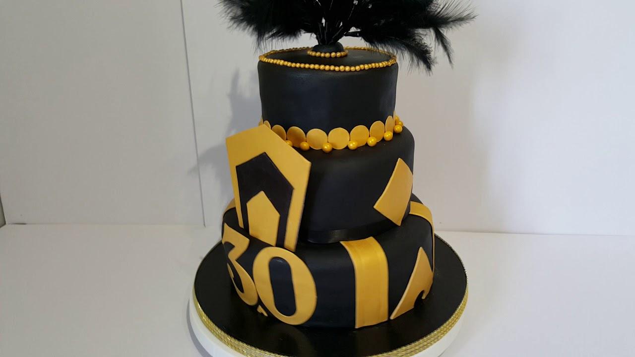 Simply Cakes By Caroline Huddersfield Great Gatsby Birthday Cake