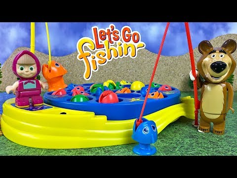 UNBOXING PRESSMAN LET'S GO FISHING ORIGINAL FAST ACTION FISHING GAME