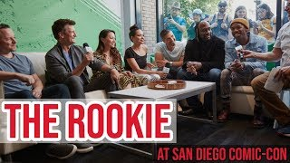 The Cast of The Rookie Talk Season 2 at San Diego Comic-Con | TV Insider