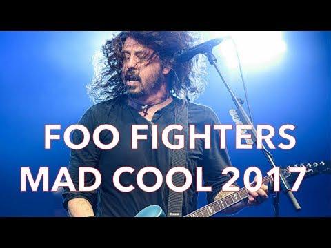 Foo Fighters Mad Cool 2017 - Madrid