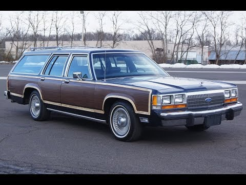 1991 Ford Ltd Country Squire Lx Estate Woody Station Wagon Youtube