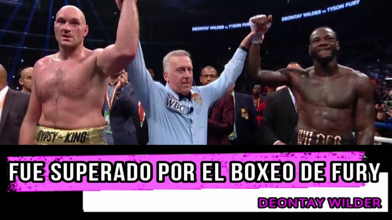 Download EMPATAN DEONTAY WILDER VS TYSON FURY POLÉMICO RESULTADO