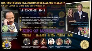 An urgent letter to Grand Duke Henri and Grand Duchess Maria Teresa of Luxembourg !!!