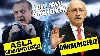 """Erdoğan """"Asla Göndermeyeceğiz"""" Deyince Kılıçtaroğlu Erdoğan'a Ağzına Geleni Söyledi (KİM HAKLI)"""
