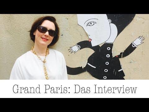 """Interview mit Stefanie von Wietersheim zum Buch """"Grand Paris"""""""
