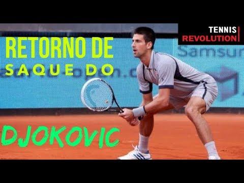🔥 Aprenda a devolver saque igual o #Djokovic e vença mais jogos de tênis ;-)