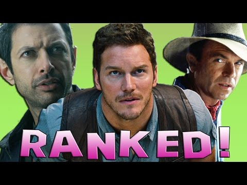 4 Jurassic Park Movies Ranked