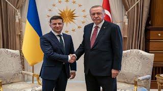Владимир Зеленский прибыл в Турцию для встречи с Реджепом Эрдоганом