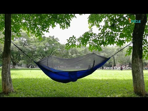 iSPECLE Camping Hammock with Mosquito Net [User Guide]