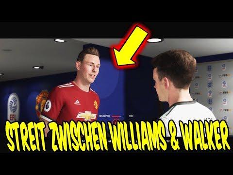 FIFA 18 THE JOURNEY 2 - Krasser STREIT Zwischen WILLIAMS Und WALKER! ⚽🔥 FifaGaming Hunter #17
