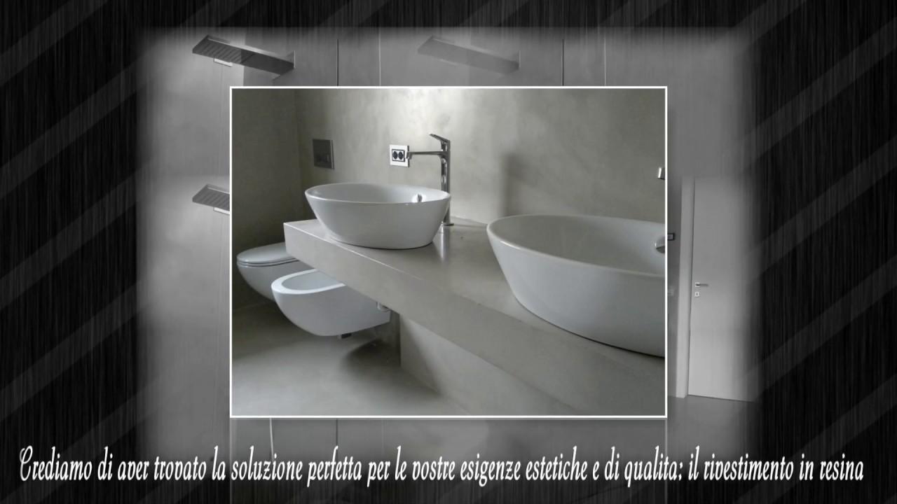 Rivestimenti Per Bagno In Resina rivestimento moderno bagno in resina a bergamo 2018