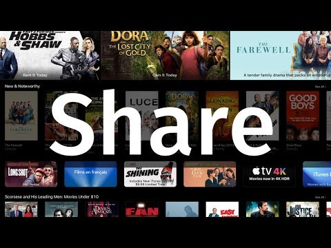 How To Share Purchased Movies From The ITunes Store | IPhone IPad IPod
