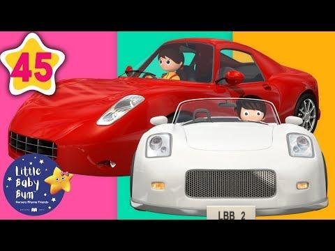 Driving in My Car | Vehicles Songs +More Nursery Rhymes & Kids Songs | Little Baby Bum