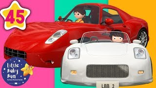Driving in My Car | Vehicles Songs +More Nursery Rhymes & Kids Songs | Little Baby Bum