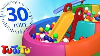 Игрушки для малышей | Бассейн с шариками | 30 минут ТуТиТу Игрушки