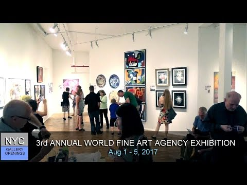 WORLD FINE ART AGENCY / 3RD ANNUAL EXHIBITION AT NOHO GALLERY