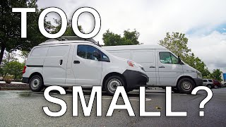 WHY DID I GET SUCH A SMALL VAN?! #vanlife