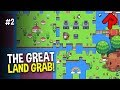 The GREAT FORAGER LAND GRAB! | Forager beta 6.2 gameplay #2 (PC closed beta)