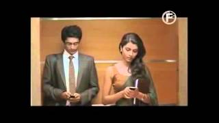 Seagrams Latest Video :Men will be Men :Imperial Blue pretty girl in elevator Ad
