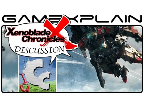 Xenoblade Chronicles X Guest Discussion featuring Chuggaaconroy (Wii U) - GameXplain  - QeKa2cB6A3g -