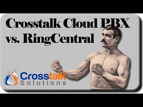 Crosstalk Cloud PBX Vs. RingCentral