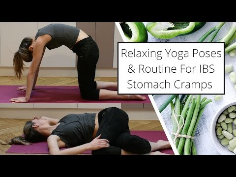 Easy Yoga Routine & Poses For IBS Stomach Cramps