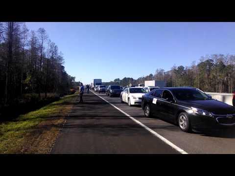 Traffic stuck on I4 by Deland FL