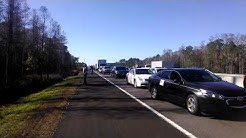 Traffic stuck on I4 by Deland FL
