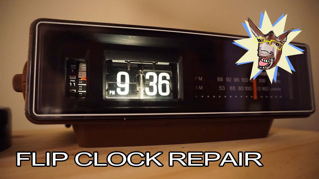 how to make a flip clock