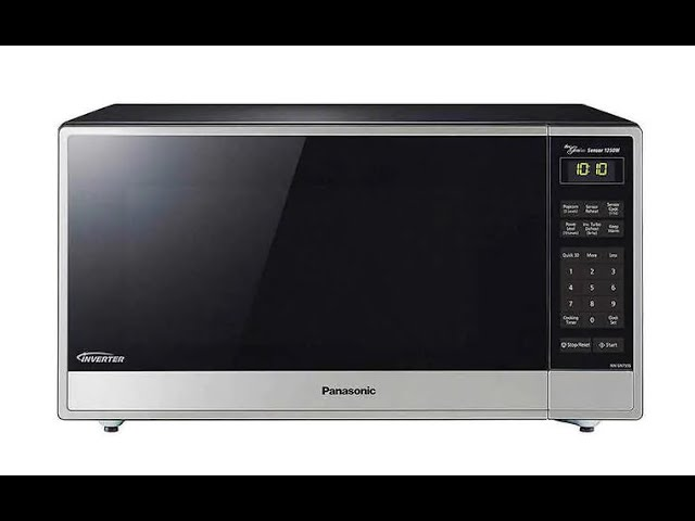 panasonic microwave nn sn755s unboxing