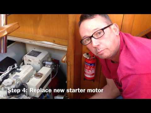 Marine Diesel Engine Starting Problem - Sailing Britican