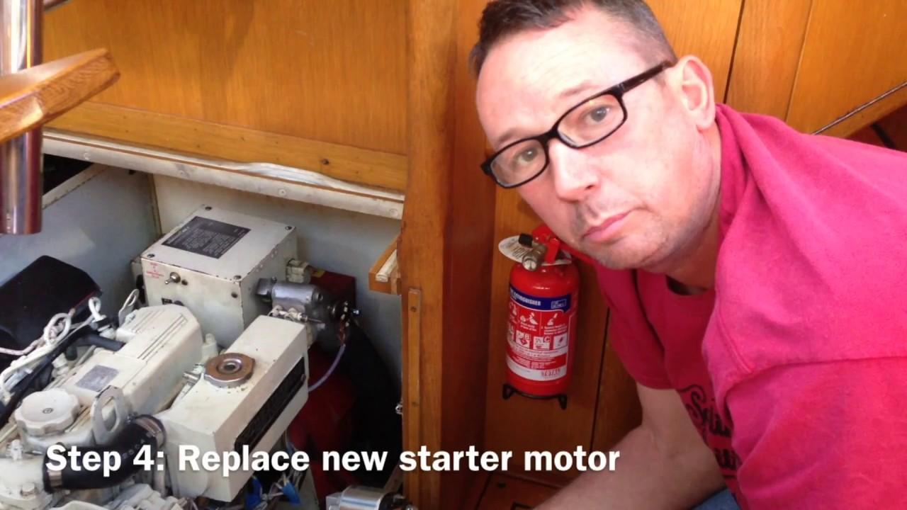 medium resolution of  marine sel engine starting problem sailing britican youtube on telsta a28c control diagram onan generator remote start wiring