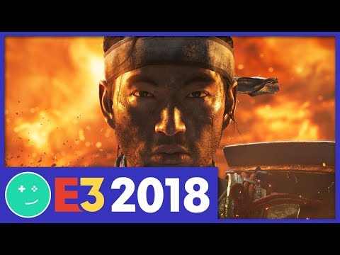 Ghost of Tsushima vs. Infamous - Gamespot Stage E3 2018