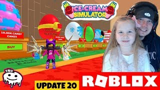 An AWFUL LOT of EGGS in the CHRISTMAS 🍦 Roblox | Daddy and Yohana CZ/SK