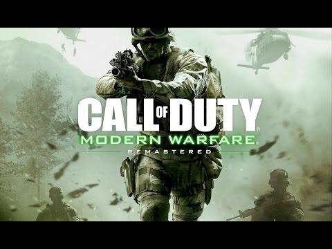 Фильм CALL OF DUTY: Modern Warfare Remastered (полный игрофильм, весь сюжет) [60fps, 1080p]